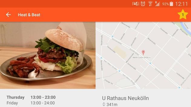 Berlin Burger Map screenshot 1