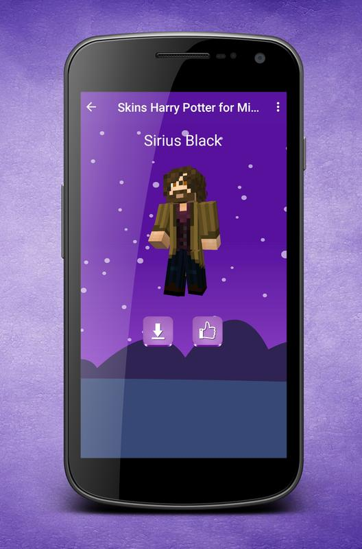 Skins Harry Potter For Minecraft For Android Apk Download