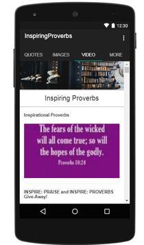 Inspiring Proverbs apk screenshot