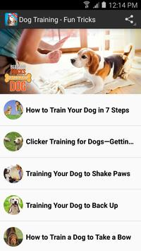 Dog Training - Best Tricks apk screenshot