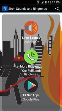 Siren Sounds and Ringtones poster