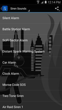 Siren Sounds and Ringtones apk screenshot