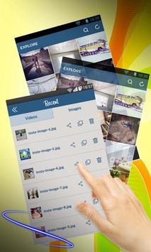 Insta download video and photo poster