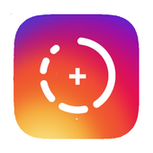 Image caption for instagram story and picture icon