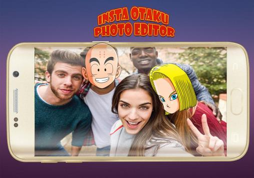 Insta Otaku Face Editor- Cartoon Face Changer apk screenshot