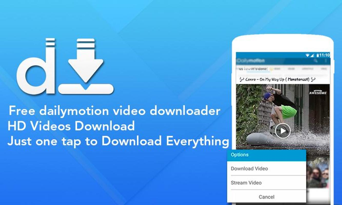 download videos online dailymotion free