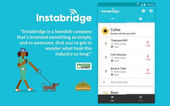 Instabridge screenshot 1