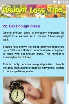 Weight Loss Tips apk screenshot