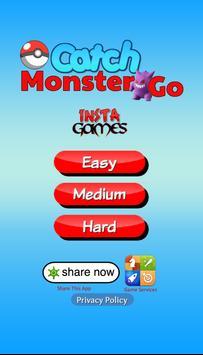 Catch Monster Go poster
