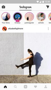Instagram الملصق