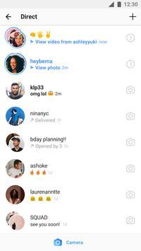 Instagram скриншот приложения