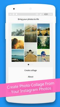 Collage Maker for Instagram poster