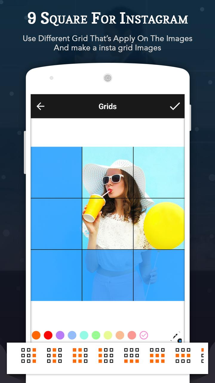 Square cut photo editor for Android - APK Download