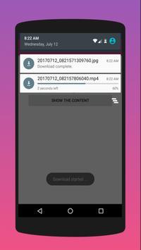 instadown - img and video loader 2018 screenshot 2