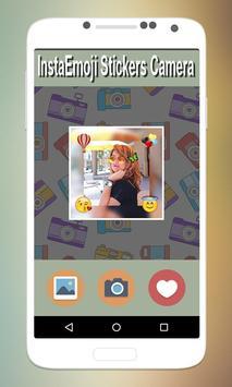 Insta Emoji Stickers Camera poster