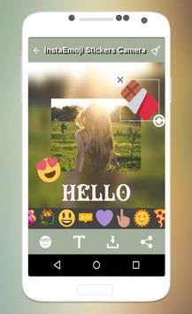 Insta Emoji Stickers Camera apk screenshot