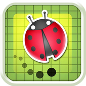 Red Bug Dash Jumping icon