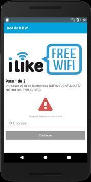 Instalar I Like Free wifi poster