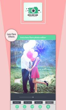 Insta Lens Flare Photo Effects poster