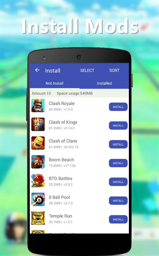 Mods Installer for Android APK Download