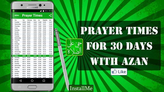 Muslim Germany Prayer Times apk screenshot