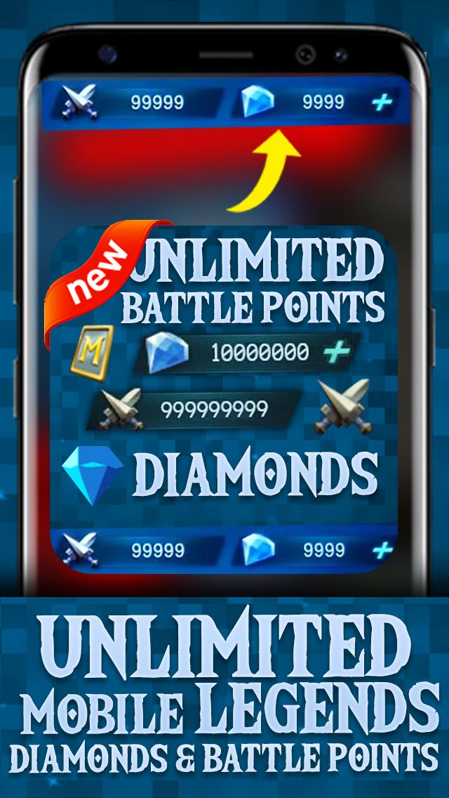Instant mobile legends Rewards Daily free diamond poster