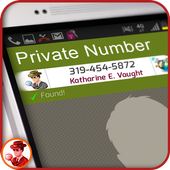 Private Number Identifier: Pro icon