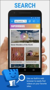 Web Video Cast | Browser to TV (Chromecast/DLNA/+) Cartaz