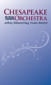 Chesapeake Orchestra poster