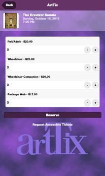 ArtTix SLC apk screenshot