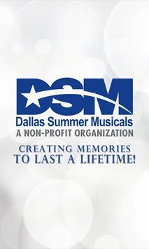 Dallas Summer Musicals poster
