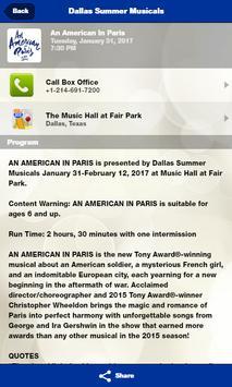 Dallas Summer Musicals screenshot 2