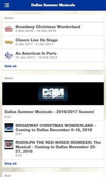 Dallas Summer Musicals apk screenshot