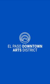 El Paso Downtown Arts District poster