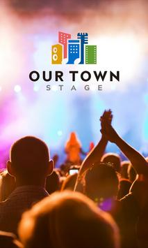 Our Town Stage poster