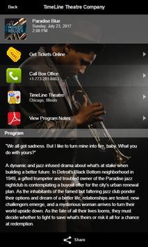 TimeLine Theatre Company apk screenshot