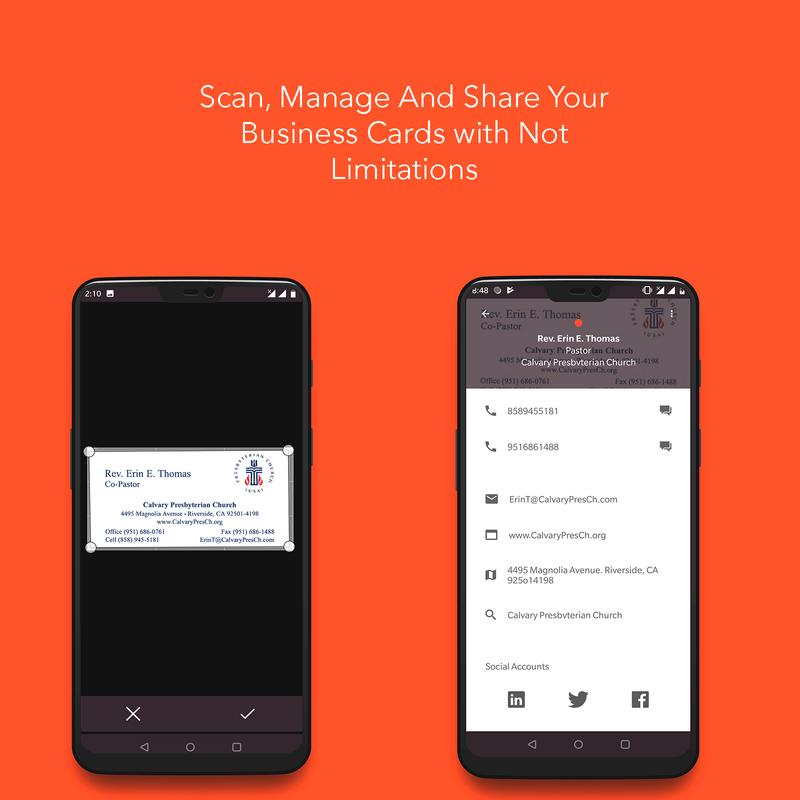 Instascanner Business Card Image To Text For Android Apk Download
