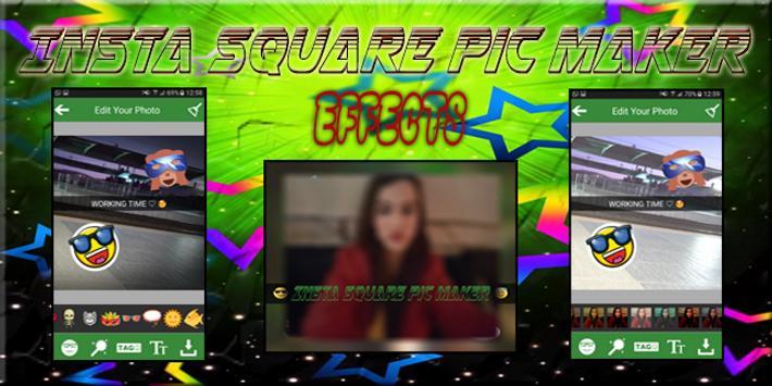 Insta Square Pic Maker screenshot 1