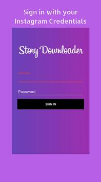 Story Notifier & Story Saver for Instagram poster