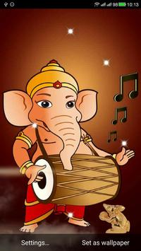 Ganesha Live Wallpaper apk screenshot