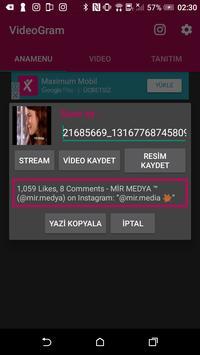 VidyoGram apk screenshot