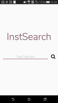 InstSearch poster