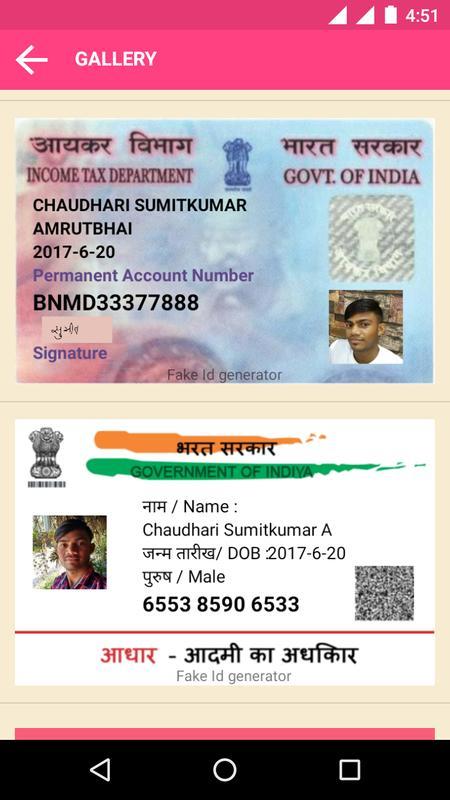 Card Amtletter Aadhar Generator Indian Fake co