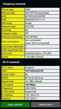 Schermata apk Phone Information