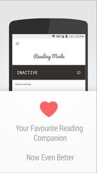 Reading Mode ポスター