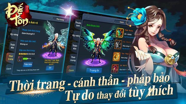 Đế Tôn - Tuyệt Đỉnh Tu Tiên apk screenshot