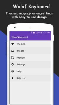 Wolof Keyboard poster