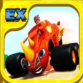 Blaze Monster Machine : Animal Island Race icon