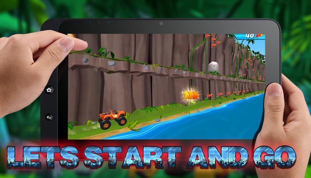 Blaze Monster Machine : Animal Island Race screenshot 2