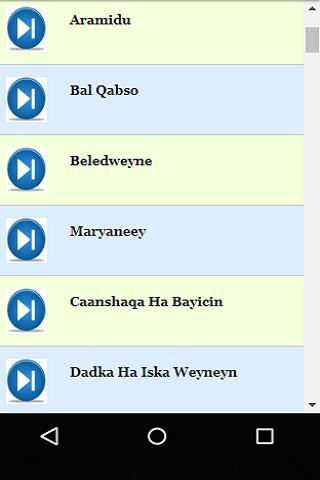 Somali Instrumental Music poster